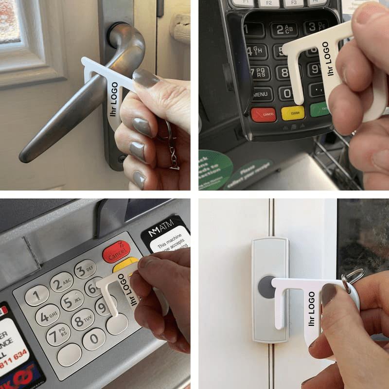 Hygiene Schlüssel Anwendung