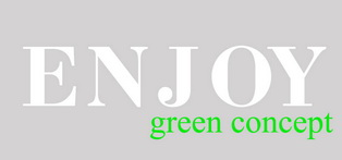 Enjoy green concept
